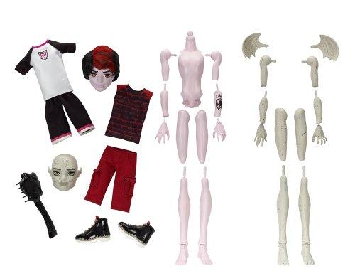モンスターハイ 人形 ドール X3725 【送料無料】Monster High Create-A-Monster Gargoyle-Vampire Boy Starter Setモンスターハイ 人形 ドール X3725