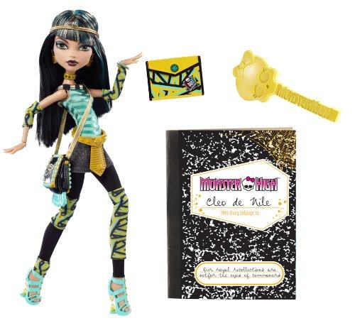 モンスターハイ 人形 ドール V7991 【送料無料】Monster High Cleo De Nile Dollモンスターハイ 人形 ドール V7991