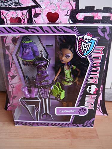 モンスターハイ 人形 ドール Monster High I Love Fashion Doll Clawdeen Wolf-daughter of the Werewolf with 3 Gore-geous Outifitsモンスターハイ 人形 ドール