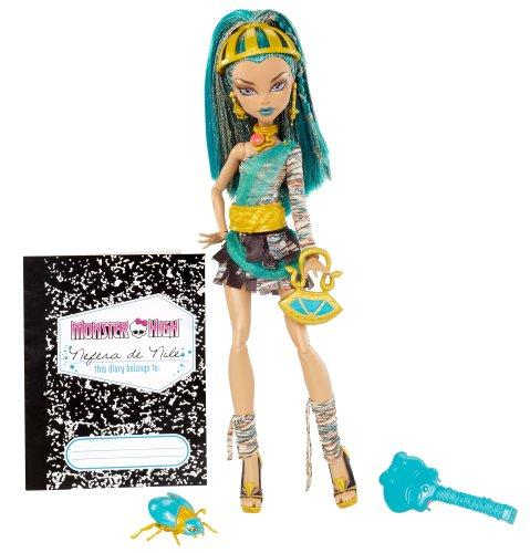 モンスターハイ 人形 ドール W9115 【送料無料】Monster High Nefera de Nile Dollモンスターハイ 人形 ドール W9115