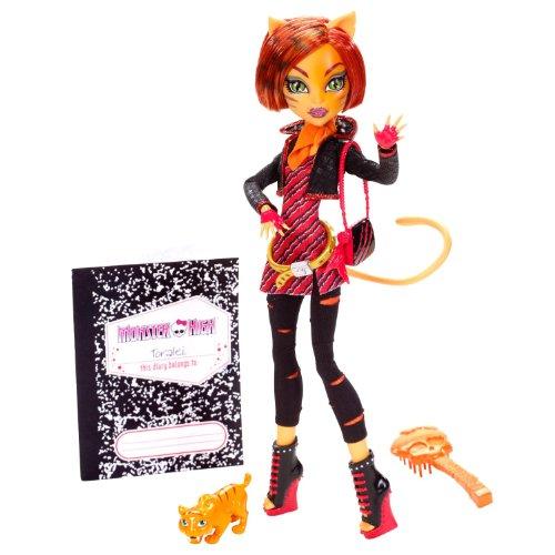 モンスターハイ 人形 ドール W9117 Monster High Toralei Stripe Doll with Pet Sweet Fangモンスターハイ 人形 ドール W9117