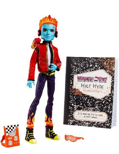 モンスターハイ 人形 ドール V2324 【送料無料】Monster High Holt Hyde with Pet chameleon Crossfadeモンスターハイ 人形 ドール V2324