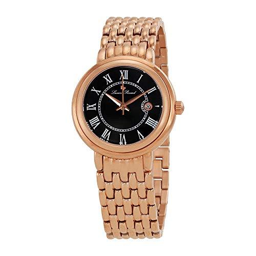 腕時計 ルシアンピカール レディース LP-16539-RG-11 【送料無料】Lucien Piccard Fantasia Black Dial Ladies Watch 16539-RG-11腕時計 ルシアンピカール レディース LP-16539-RG-11