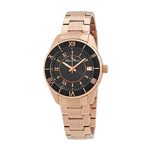 ルシアンピカール 腕時計 レディース LP-12741-RG-11-BCB Lucien Piccard Women's LP-12741-RG-11-BCB Saraille Analog Display Japanese Quartz Rose Gold Watchルシアンピカール 腕時計 レディース LP-12741-RG-11-BCB