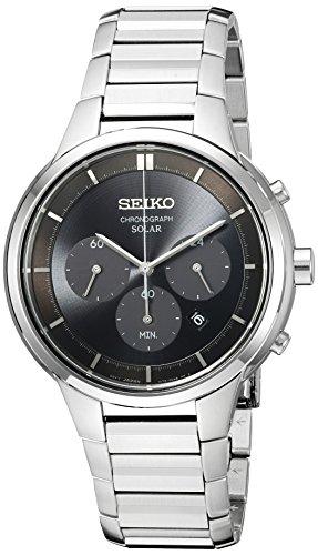 セイコー 腕時計 メンズ 夏のボーナス特集 SSC439 Seiko Men's SSC439 Chronograph Analog Display Japanese Quartz Silver Watchセイコー 腕時計 メンズ 夏のボーナス特集 SSC439