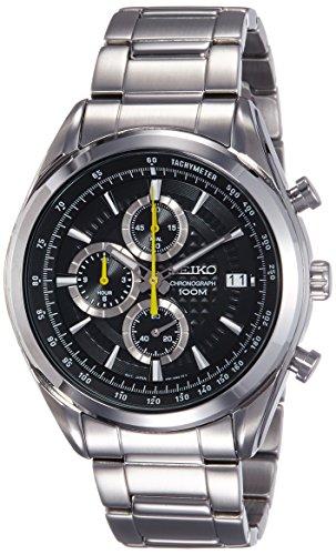 セイコー 腕時計 メンズ SSB175P1 SEIKO SSB175P1,Men's Chronograph,Stainless Steel Case & Bracelet,Black Dial,100m WR,SSB175セイコー 腕時計 メンズ SSB175P1
