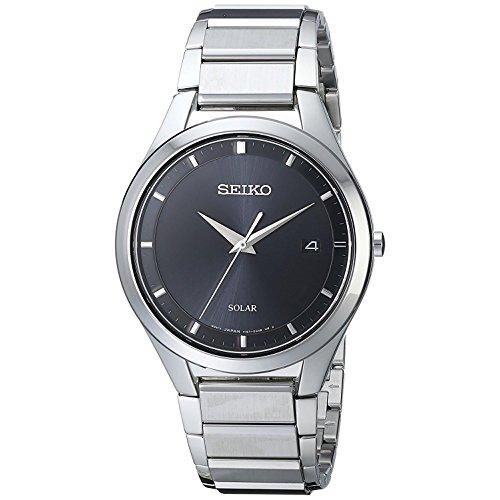 セイコー 腕時計 メンズ SNE241 【送料無料】Seiko Men's Solar SNE241 Black Stainless-Steel Quartz Watchセイコー 腕時計 メンズ SNE241