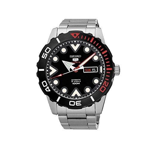 セイコー 腕時計 メンズ SRPA07K1 SEIKO 5 AUTOMATIC SPORTS S STEEL BEZEL SEE THRU BACK 100m SRPA07 SRPA07K1セイコー 腕時計 メンズ SRPA07K1