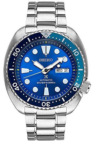 腕時計 セイコー メンズ SRPB11 【送料無料】Seiko Prospex Blue Lagoon Turtle Limited Edition Divers Automatic Men's Watch SRPB11腕時計 セイコー メンズ SRPB11
