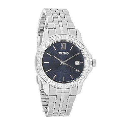 セイコー 腕時計 レディース 【送料無料】Seiko Crystal Dress Women's Quartz Watch SUR735セイコー 腕時計 レディース