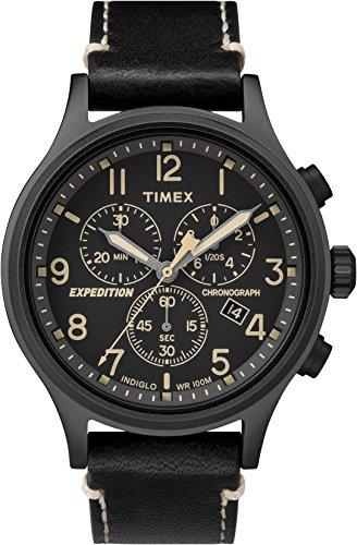 タイメックス 腕時計 メンズ TW4B09100 【送料無料】Timex Expedition TW4B09100 Scout Chrono Men Watch, Black/Blackタイメックス 腕時計 メンズ TW4B09100