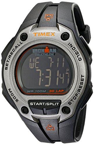 タイメックス 腕時計 メンズ T5K758 【送料無料】Timex Men's T5K758 Ironman Classic 30 Oversized Black/Silver-Tone Resin Strap Watchタイメックス 腕時計 メンズ T5K758
