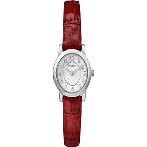 タイメックス 腕時計 レディース TW2P605009J 【送料無料】Timex Women's TW2P605009J Cavatina Analog Display Analog Quartz Red Watchタイメックス 腕時計 レディース TW2P605009J