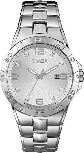 腕時計 タイメックス メンズ T2P270 【送料無料】Timex Elevated Silver Dial Stainless Steel Men's Watch T2P270腕時計 タイメックス メンズ T2P270
