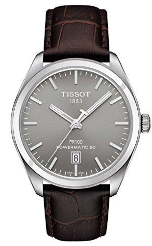 ティソ 腕時計 メンズ T101.407.16.071.00 Tissot PR 100 Automatic Rhodium Dial Mens Watch T101.407.16.071.00ティソ 腕時計 メンズ T101.407.16.071.00
