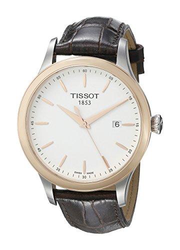 ティソ 腕時計 メンズ T9124104601100 【送料無料】Tissot Men's T9124104601100 Couturier Analog Display Swiss Quartz Brown Watchティソ 腕時計 メンズ T9124104601100