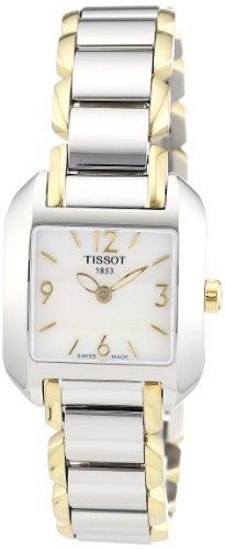 ティソ 腕時計 レディース T02228582 Tissot Women's T02228582 T-Wave Two-Tone Bracelet Watchティソ 腕時計 レディース T02228582