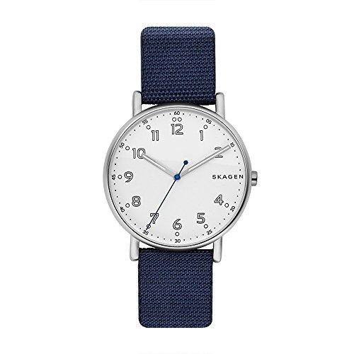 スカーゲン 腕時計 メンズ SKW6356 Skagen Men's SKW6356 Signatur Blue Nylon Watchスカーゲン 腕時計 メンズ SKW6356