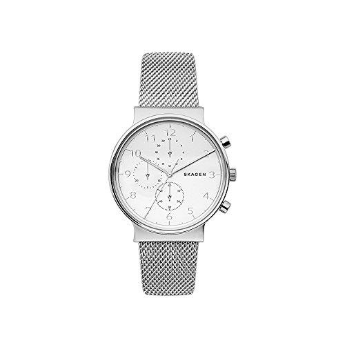 スカーゲン 腕時計 メンズ SKW6361 Skagen Men's SKW6361 Ancher Steel-Mesh Chronographスカーゲン 腕時計 メンズ SKW6361
