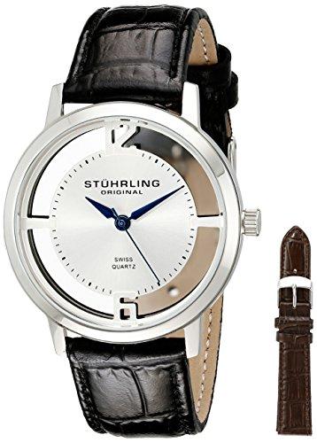 ストゥーリングオリジナル 腕時計 メンズ 388G2.SET.01 Stuhrling Original Men's 388G2.SET.01 Winchester Cathedral Stainless Steel Watchストゥーリングオリジナル 腕時計 メンズ 388G2.SET.01
