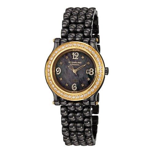 腕時計 ストゥーリングオリジナル レディース 9955.12M927 【送料無料】Stuhrling Original Women's 955.12M927 Grace Date Black腕時計 ストゥーリングオリジナル レディース 9955.12M927