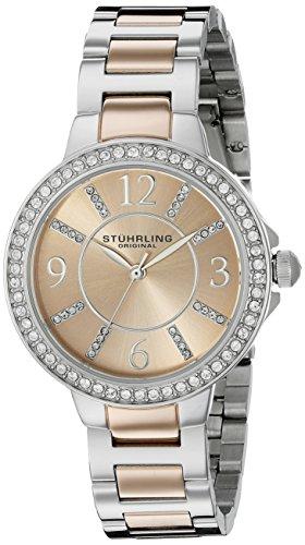 ストゥーリングオリジナル 腕時計 レディース 480.03 【送料無料】Stuhrling Original Women's 4803 Allure Two-Tone Stainless Steel Watchストゥーリングオリジナル 腕時計 レディース 480.03