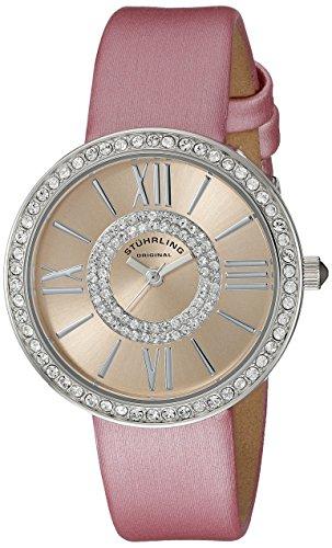 ストゥーリングオリジナル 腕時計 レディース 566.03 Stuhrling Original Women's 566.03 Vogue Analog Display Quartz Pink Watchストゥーリングオリジナル 腕時計 レディース 566.03
