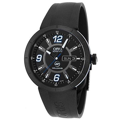 オリス 腕時計 メンズ 735-7651-4765-RS 【送料無料】Oris 0173576514765-0742506B Men's Tt1 Williams F1 Team Automatic Black Rubber And Dial Watchオリス 腕時計 メンズ 735-7651-4765-RS