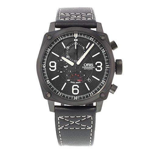 オリス 腕時計 メンズ 【送料無料】Oris BC4 Chronograph Men's Automatic Watch 674-7633-4794-LSオリス 腕時計 メンズ