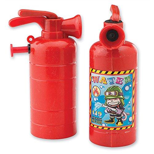 水鉄砲 ウォーターガン アメリカ直輸入 SmileMakers Fire Extinguisher Squirters - Toy 24 per Pack水鉄砲 ウォーターガン アメリカ直輸入