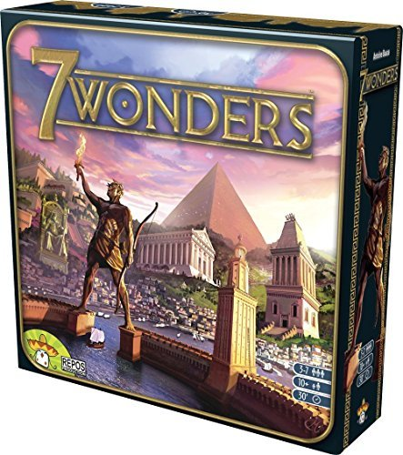ボードゲーム 英語 アメリカ 海外ゲーム SEV-EN01ASM 7 Wondersボードゲーム 英語 アメリカ 海外ゲーム SEV-EN01ASM