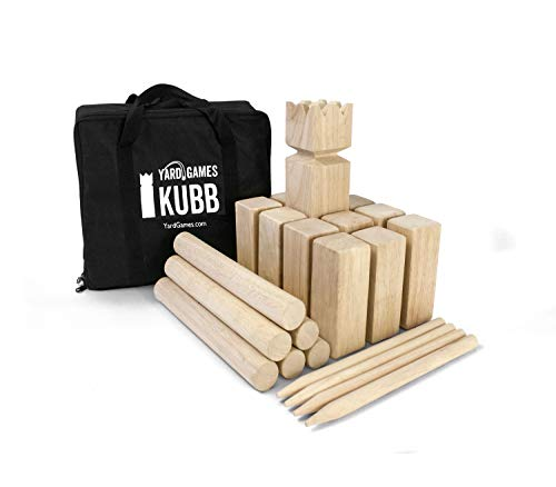 Stacking Games Yard Games Kubb Game Premium Set YardGames