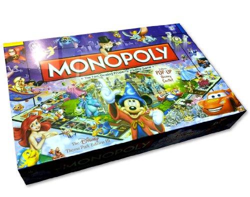 ボードゲーム 英語 アメリカ 海外ゲーム Disney Theme Park Edition III Monopoly Gameボードゲーム 英語 アメリカ 海外ゲーム