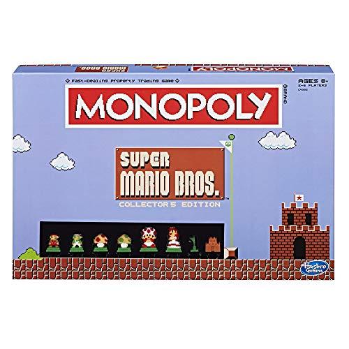 ボードゲーム 英語 アメリカ 海外ゲーム MN005-435 Monopoly: Super Mario Bros Collector's Edition Board Game (Amazon Exclusive)ボードゲーム 英語 アメリカ 海外ゲーム MN005-435