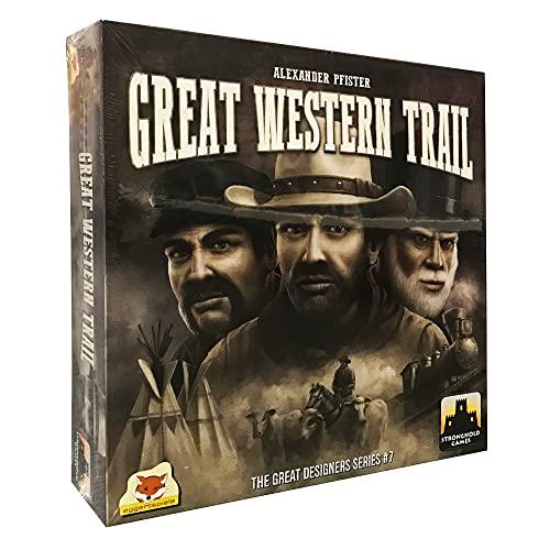 ボードゲーム 英語 アメリカ 海外ゲーム 8024SG Great Western Trail Board Gameボードゲーム 英語 アメリカ 海外ゲーム 8024SG