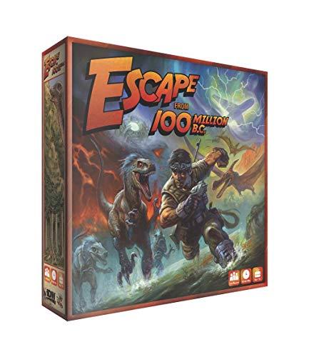 ボードゲーム 英語 アメリカ 海外ゲーム AUG160552 Escape From 100 Million B.C.! Board Gameボードゲーム 英語 アメリカ 海外ゲーム AUG160552