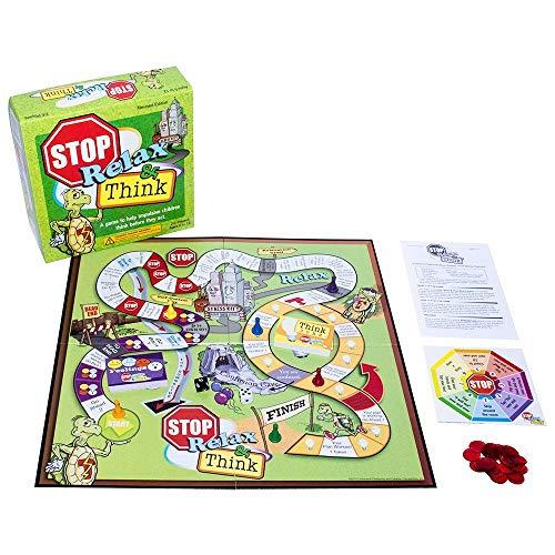 ボードゲーム 英語 アメリカ 海外ゲーム Stop, Relax & Think: A Game to Help Impulsive Children Think Before They Actボードゲーム 英語 アメリカ 海外ゲーム