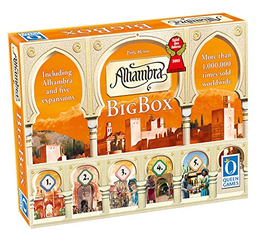 ボードゲーム 英語 アメリカ 海外ゲーム A26 【送料無料】Alhambra Big Boxボードゲーム 英語 アメリカ 海外ゲーム A26