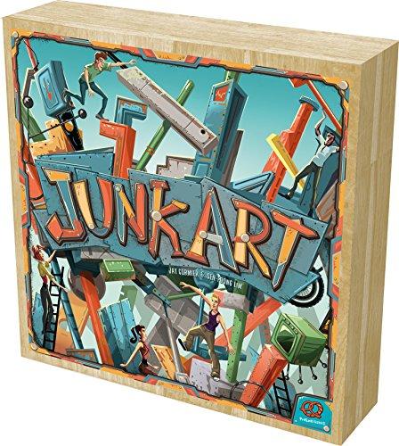 ボードゲーム 英語 アメリカ 海外ゲーム 20020PZG Pretzel Games Junk Art Board Gameボードゲーム 英語 アメリカ 海外ゲーム 20020PZG