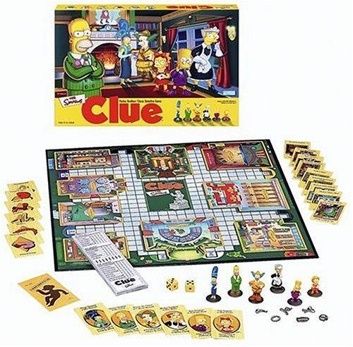 ボードゲーム 英語 アメリカ 海外ゲーム 40766 【送料無料】Simpsons Clue Detective Gameボードゲーム 英語 アメリカ 海外ゲーム 40766