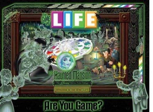 ボードゲーム 英語 アメリカ 海外ゲーム Disney Theme Parks Exclusive The Game of Life Haunted Mansion Editionボードゲーム 英語 アメリカ 海外ゲーム