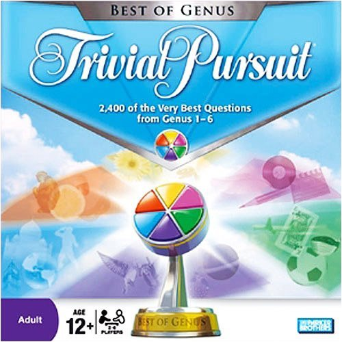 ボードゲーム 英語 アメリカ 海外ゲーム C-267A / 04499 Trivial Pursuit Best of Genus Edition Board Gameボードゲーム 英語 アメリカ 海外ゲーム C-267A / 04499