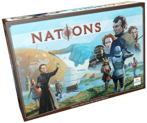 ボードゲーム 英語 アメリカ 海外ゲーム NAT01ASM Asmodee Nationsボードゲーム 英語 アメリカ 海外ゲーム NAT01ASM
