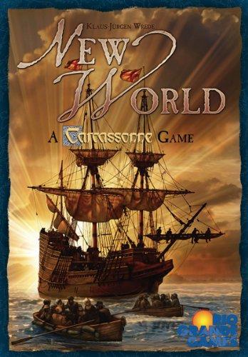 ボードゲーム 英語 アメリカ 海外ゲーム RGG317 New World: A Carcassonne Gameボードゲーム 英語 アメリカ 海外ゲーム RGG317