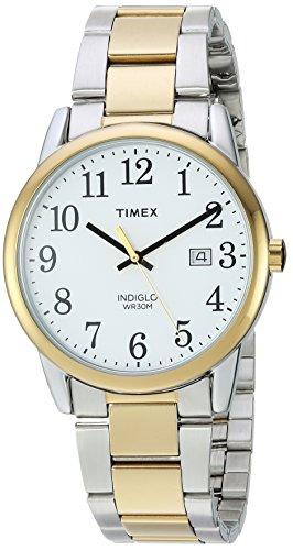 タイメックス 腕時計 メンズ TW2R23500 Timex Men's TW2R23500 Easy Reader Two-Tone/White Stainless Steel Bracelet Watchタイメックス 腕時計 メンズ TW2R23500