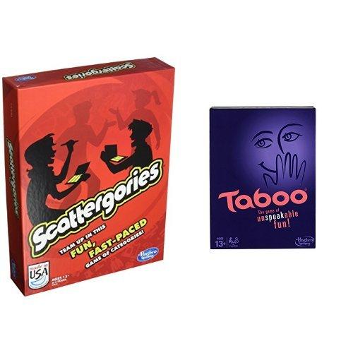 ボードゲーム 英語 アメリカ 海外ゲーム Scattergories Game and Taboo Board Game Bundleボードゲーム 英語 アメリカ 海外ゲーム