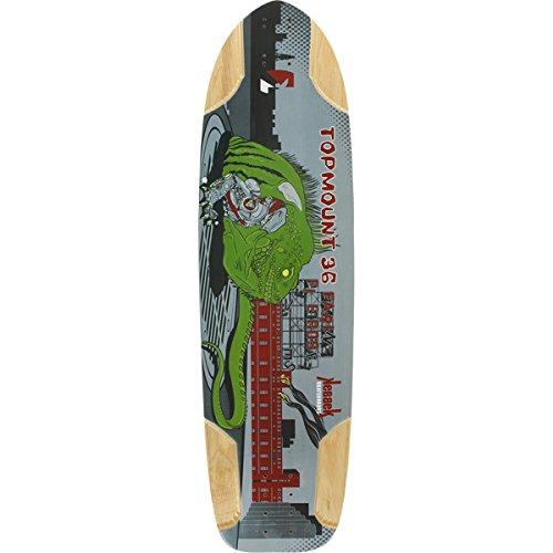 ケベック ロングスケートボード スケボー 海外モデル アメリカ直輸入 Kebbek Skateboards Topmount Skateboard Deck - 9.8