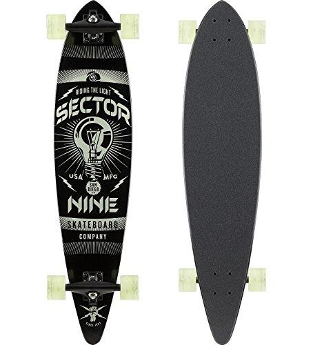 セクター9 スタンダードスケートボード スケボー 海外モデル アメリカ直輸入 Sector 9 Beacon Complete Skateboard, Assorted, 38