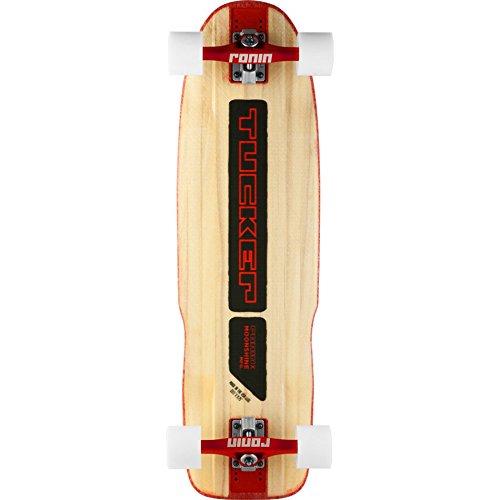 ムーンシャイン ロングスケートボード スケボー 海外モデル アメリカ直輸入 【送料無料】Moonshine Tucker Complete Longboard Skateboard -9.75x33 Natural/Black/Redムーンシャイン ロングスケートボード スケボー 海外モデル アメリカ直輸入