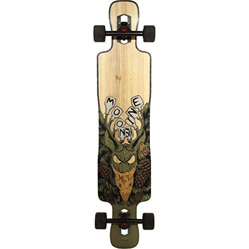 ムーンシャイン ロングスケートボード スケボー 海外モデル アメリカ直輸入 Moonshine County Line Soft-Flex Complete Longboard Skateboard -9.5x43.75 Naturalムーンシャイン ロングスケートボード スケボー 海外モデル アメリカ直輸入